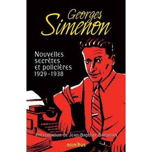 NOUVELLES SECRETES ET POLICIERES 1929-1938 - TOME 1