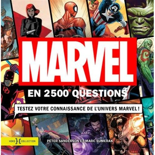 MARVEL EN 2500 QUESTIONS