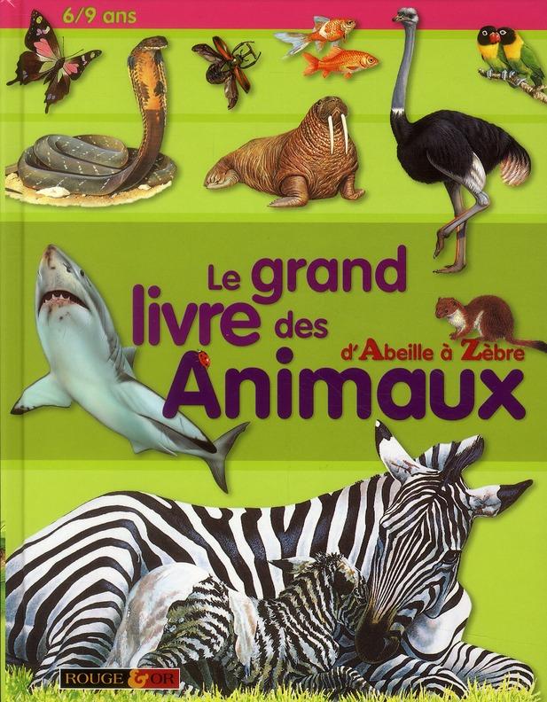 GRAND LIVRE DES ANIMAUX