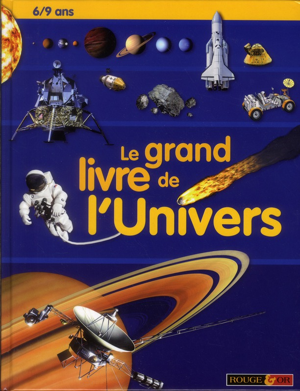GRAND LIVRE DE L'UNIVERS 6/9 A