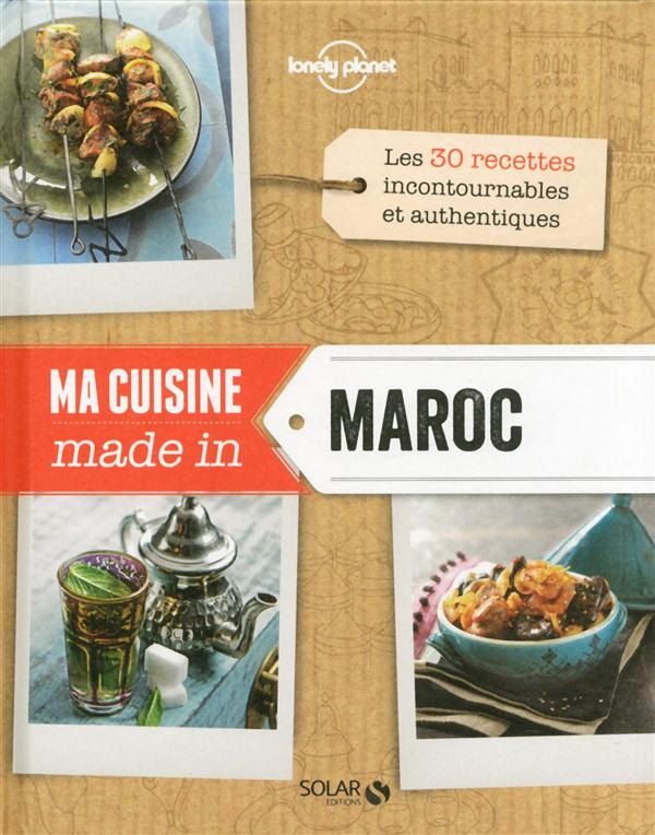 MA CUISINE MADE IN MAROC - LONELY PLANET SOLAR