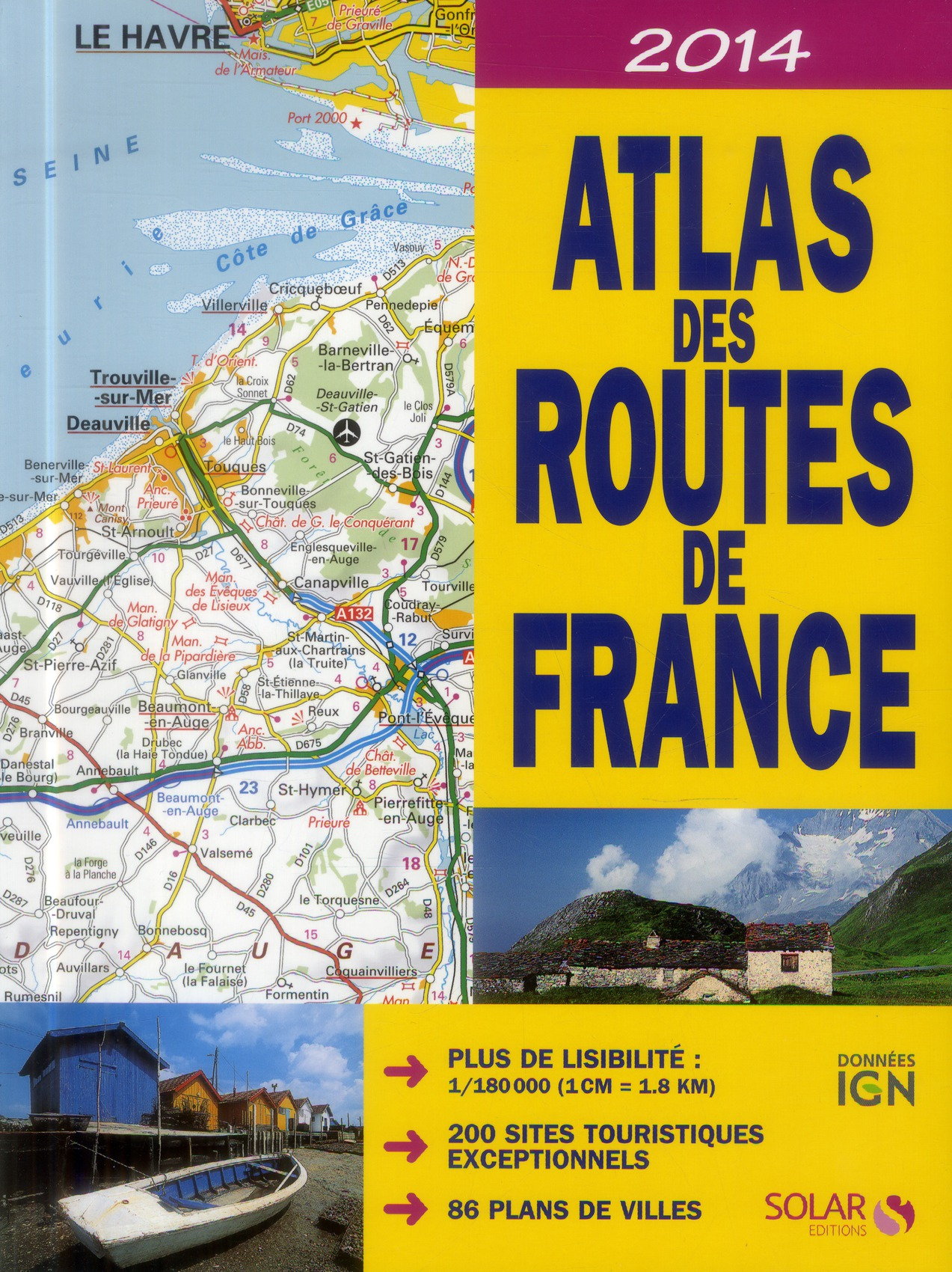 ATLAS DES ROUTES 2014