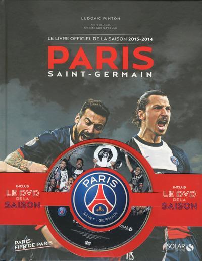 COFFRET PARIS SAINT-GERMAIN - LE LIVRE OFFICIEL DE LA SAISON 2013-2014