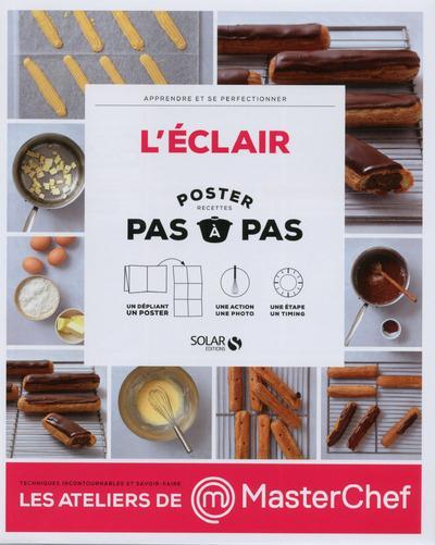 L'ECLAIR - POSTER PAS A PAS - MASTERCHEF