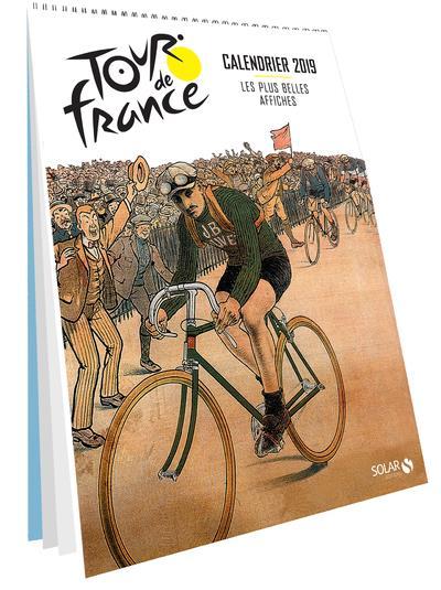 TOUR DE FRANCE - CALENDRIER 2019 - LES PLUS BELLES AFFICHES