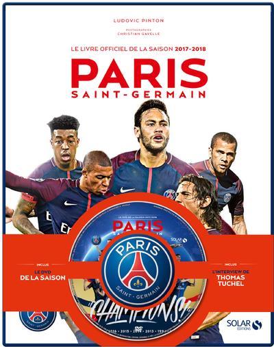 COFFRET PARIS SAINT-GERMAIN - LE LIVRE OFFICIEL DE LA SAISON 2017-2018 + DVD