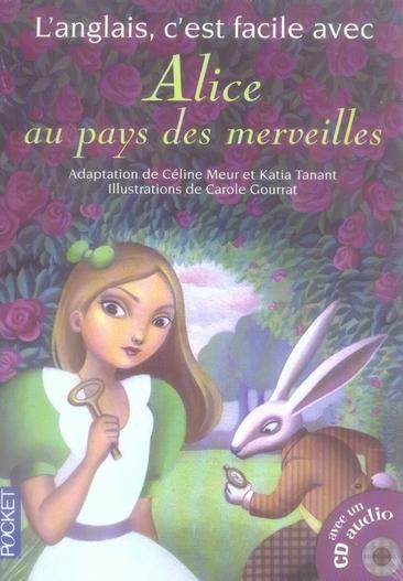 L'ANGLAIS C'EST FACILE AVEC ALICE AU PAYS DES MERVEILLES  (+1CD) (FILME)