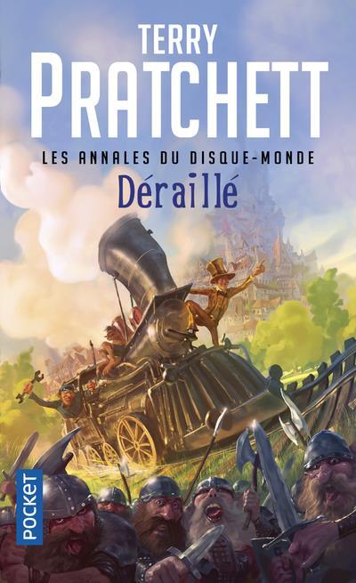 LES ANNALES DU DISQUE-MONDE - TOME 35 DERAILLE - VOL35