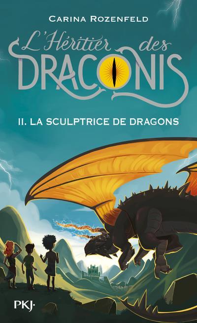L'HERITIER DES DRACONIS - TOME 2 LA SCULPTRICE DES DRAGONS - VOL02