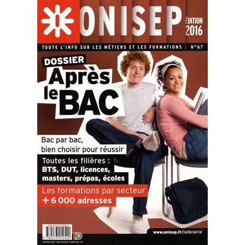 APRES LE BAC, EDITION 2016