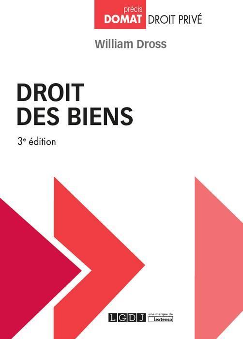DROIT DES BIENS 3EME EDITION