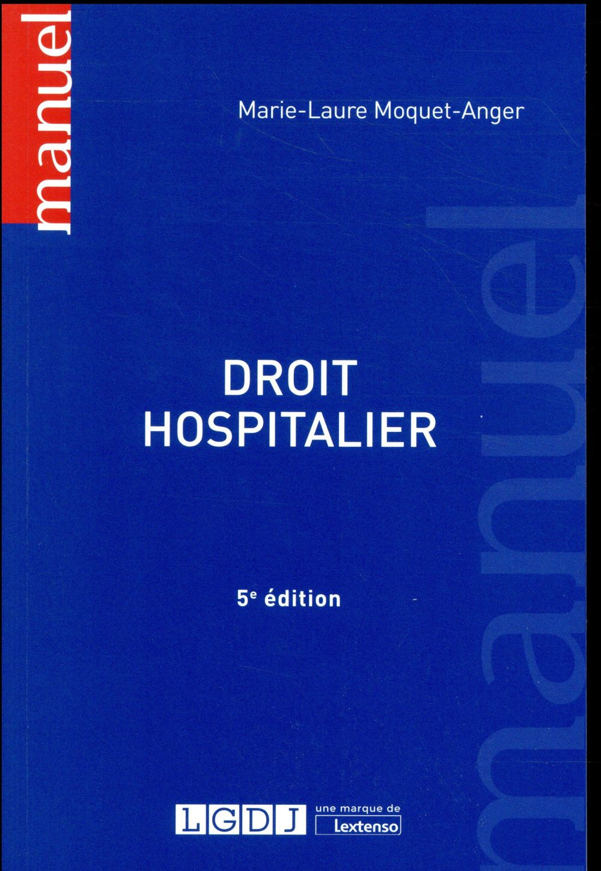 DROIT HOSPITALIER 5EME EDITION