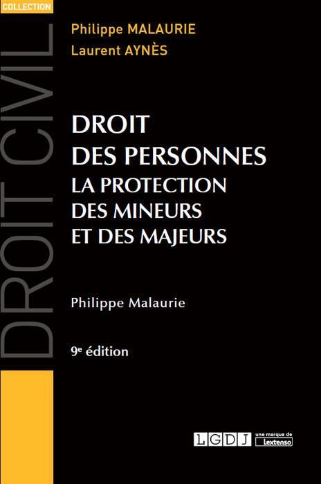 DROIT DES PERSONNES 9ME EDITION