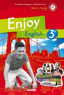 ENJOY ENGLISH 3E - LIVRE + CD AUDIO-ROM