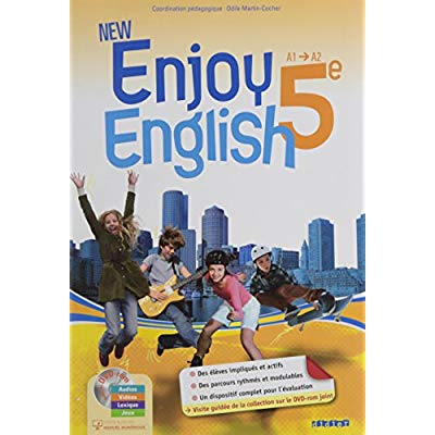 NEW ENJOY ENGLISH 5E - SPECIAL ENSEIGNANT - LIVRE+DVDROM
