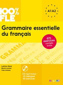 GRAMMAIRE ESSENTIELLE DU FRANCAIS NIV. A1 A2 - LIVRE + CD