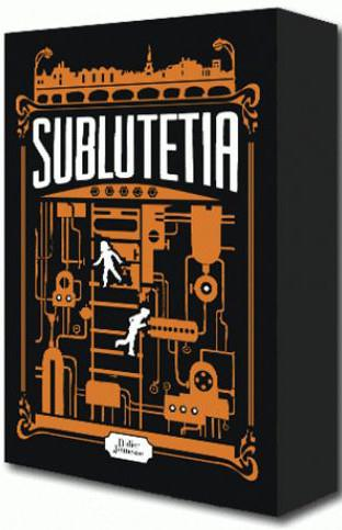 COFFRET SUBLUTETIA (SUPPLEMENT : JOURNAL D'UN SUBLUTETIEN)