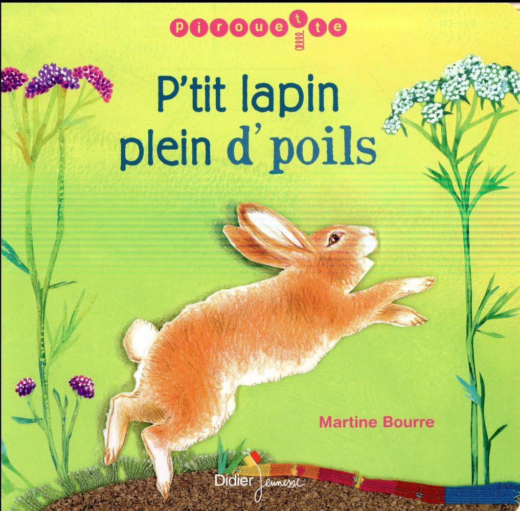 P'TIT LAPIN PLEIN D'POILS CARTON