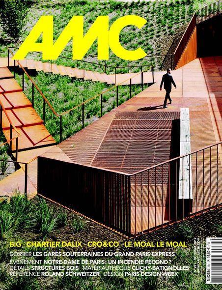 AMC N  281 - LE MONITEUR ARCHITECTURE REVUE MENSUELLE