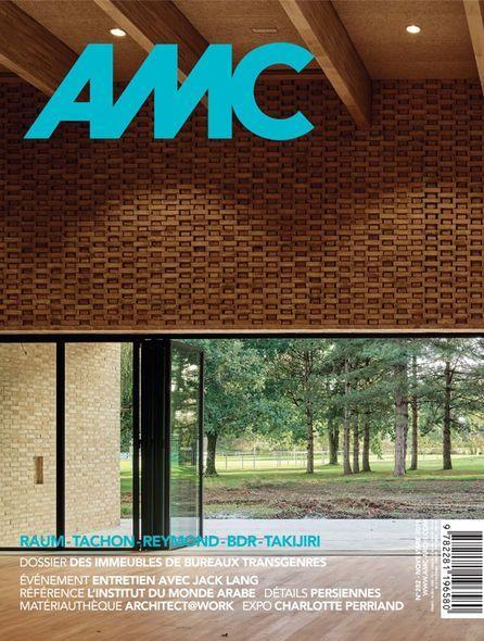 AMC N 282 - LE MONITEUR ARCHITECTURE - REVUE MENSUELLE