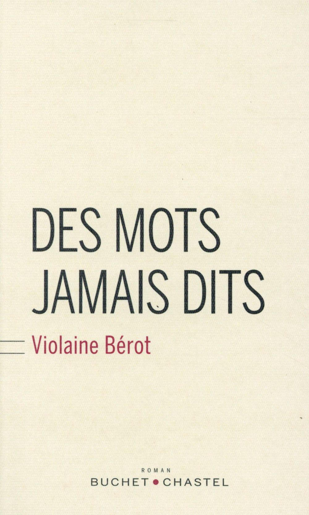 DES MOTS JAMAIS DITS