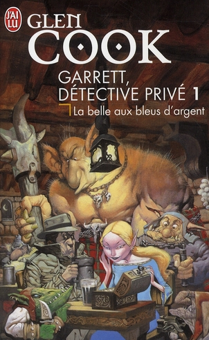 GARRETT, DETECTIVE PRIVE - T01 - LA BELLE AUX BLEUS D'ARGENT