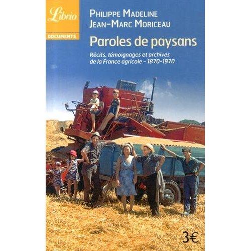 PAROLES DE PAYSANS