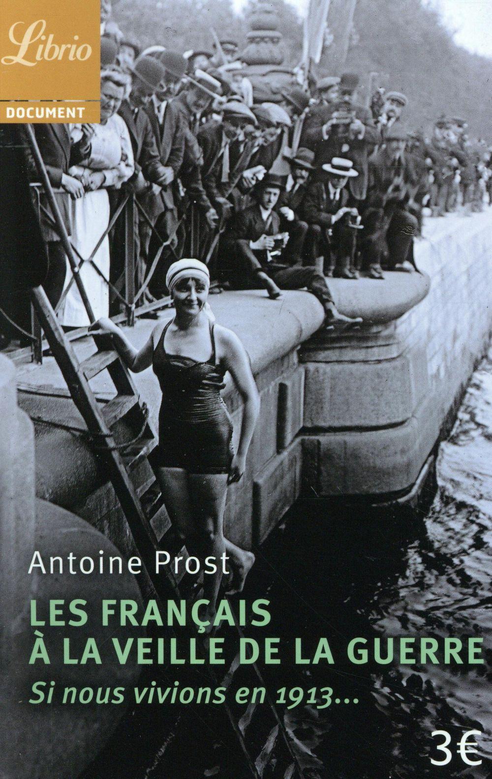 LES FRANCAIS A LA VEILLE DE LA GUERRE