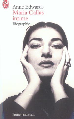 MARIA CALLAS INTIME - BIOGRAPHIE