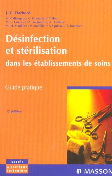 DESINFECTION ET STERILISATION DANS LES SERVICES DE SOINS - POD