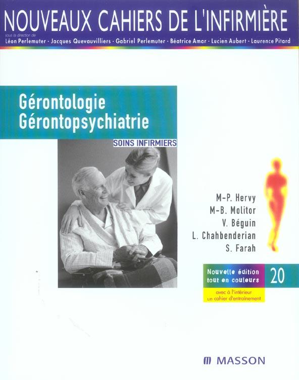GERONTOLOGIE ET GERONTOPSYCHIATRIE