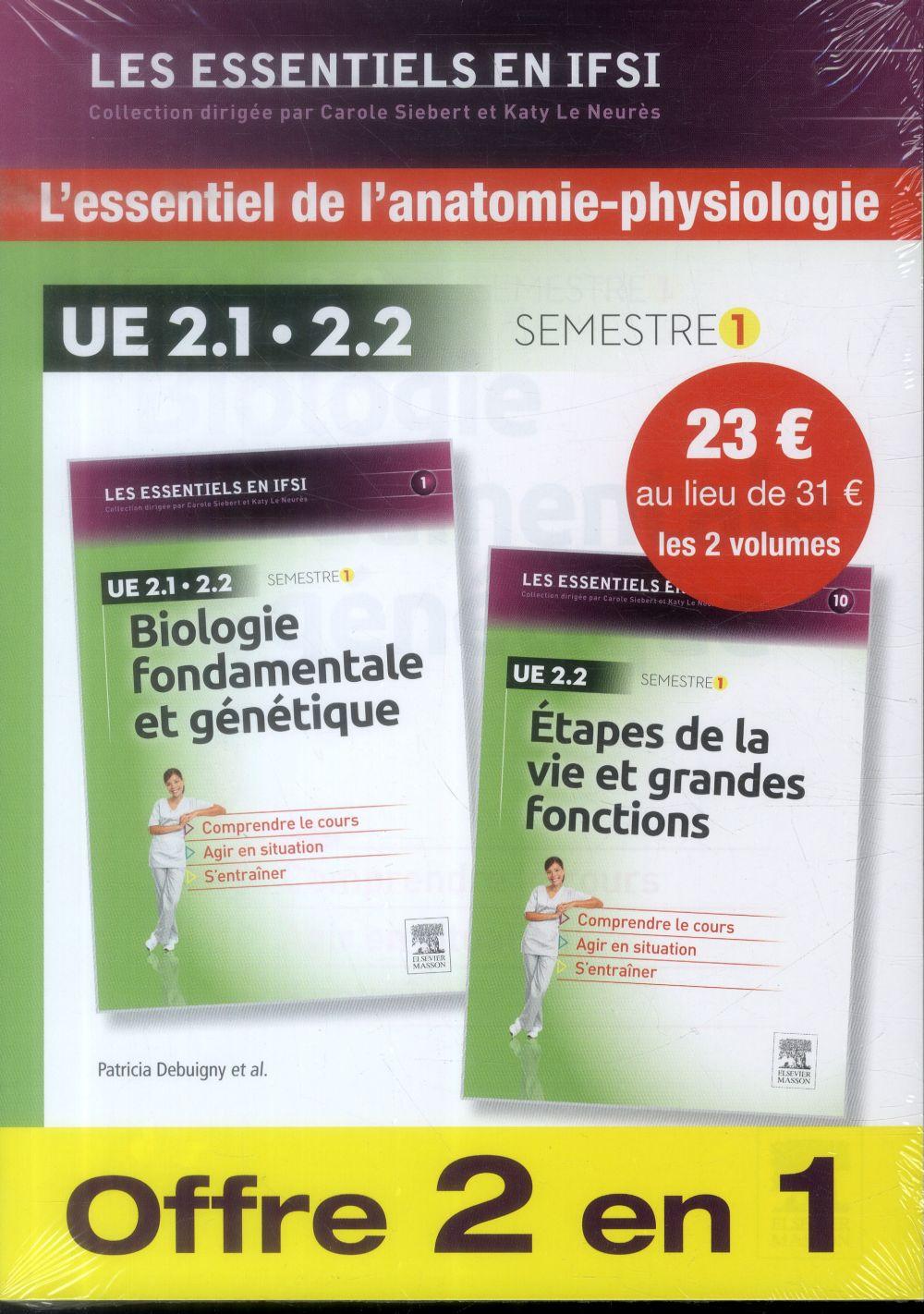 PACK : BIOLOGIE FONDAMENTALE ET GENETIQUE + ETAPES DE LA VIE ET GRANDES FONCTIONS