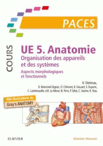 UE 5 - ANATOMIE. ORGANISATION DES APPAREILS ET DES SYSTEMES - ASPECTS MORPHOLOGIQUES ET FONCTIONNELS