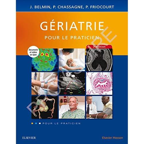 GERIATRIE - POUR LE PRATICIEN