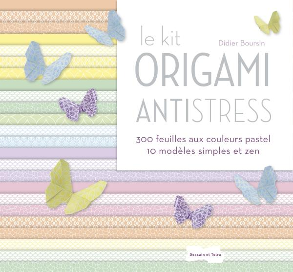 KIT ORIGAMI ANTI-STRESS