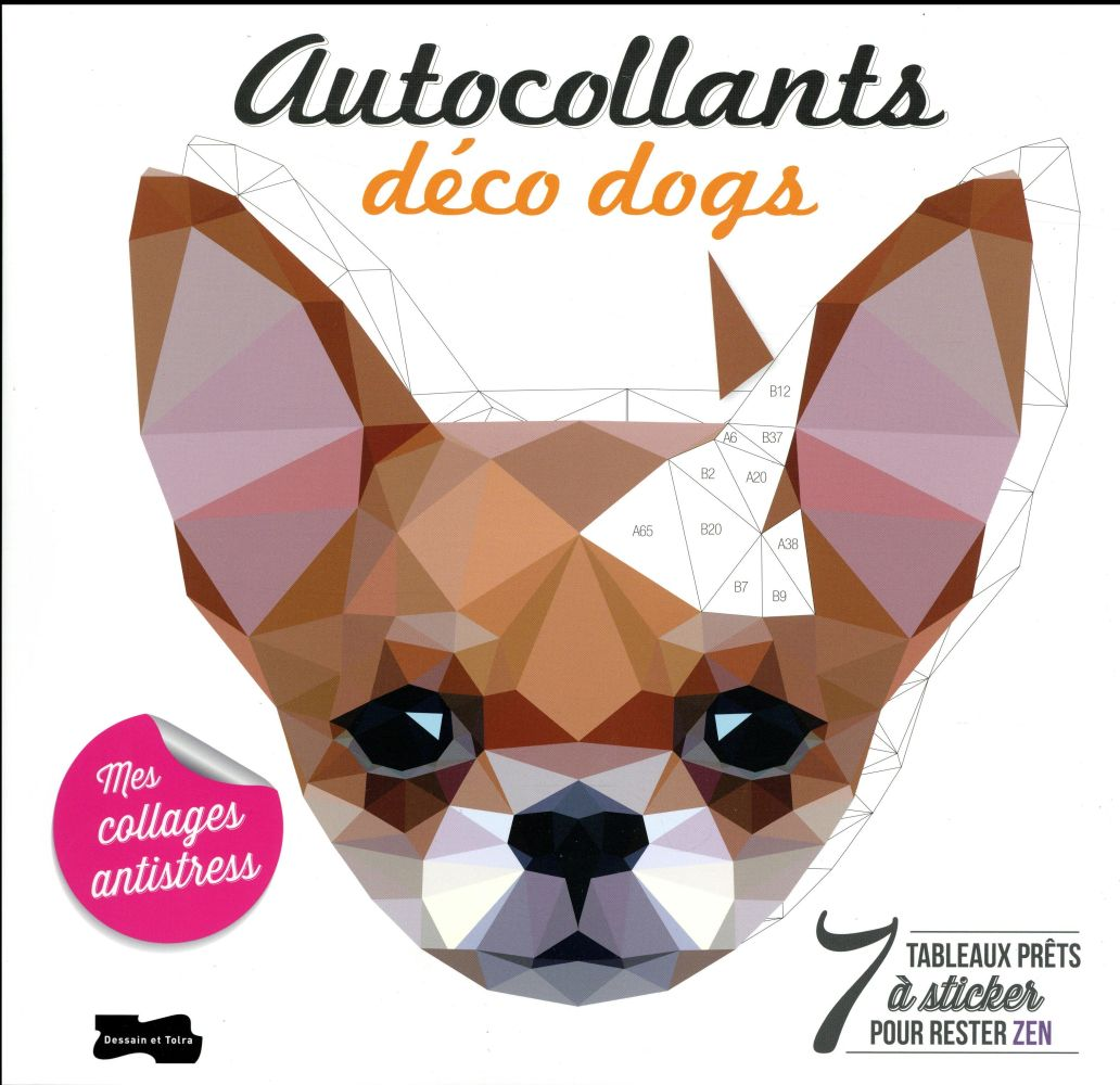 AUTO-COLLANTS DECO DOGS