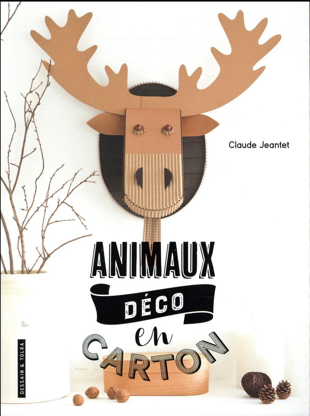 "ANIMAUX ""DECO"" EN CARTON"