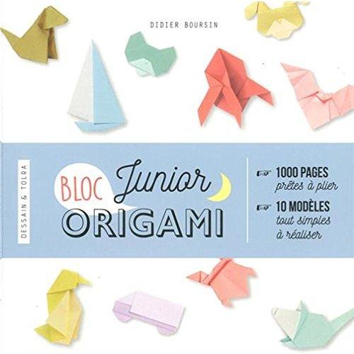 HAPPY ORIGAMIS JUNIORS - 1000 PAGES PRETES A PLIER ET 10 MODELES TOUT SIMPLES A REALISER