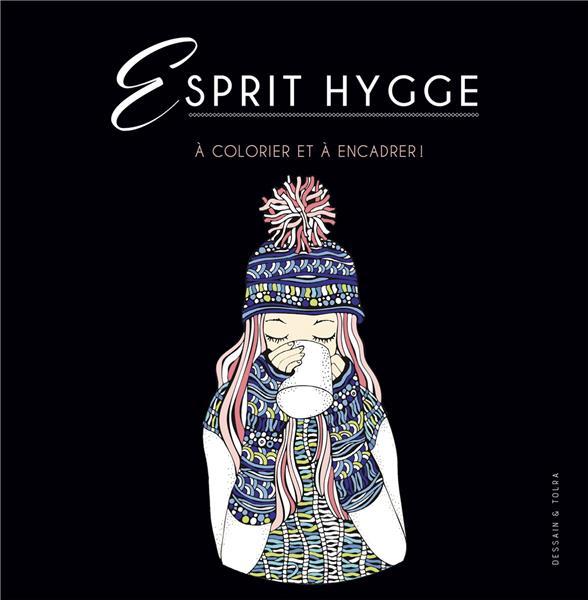 ESPRIT HYGGE - A COLORIER ET A ENCADRER !