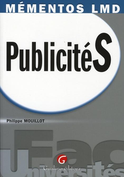 MEMENTOS LMD - PUBLICITES