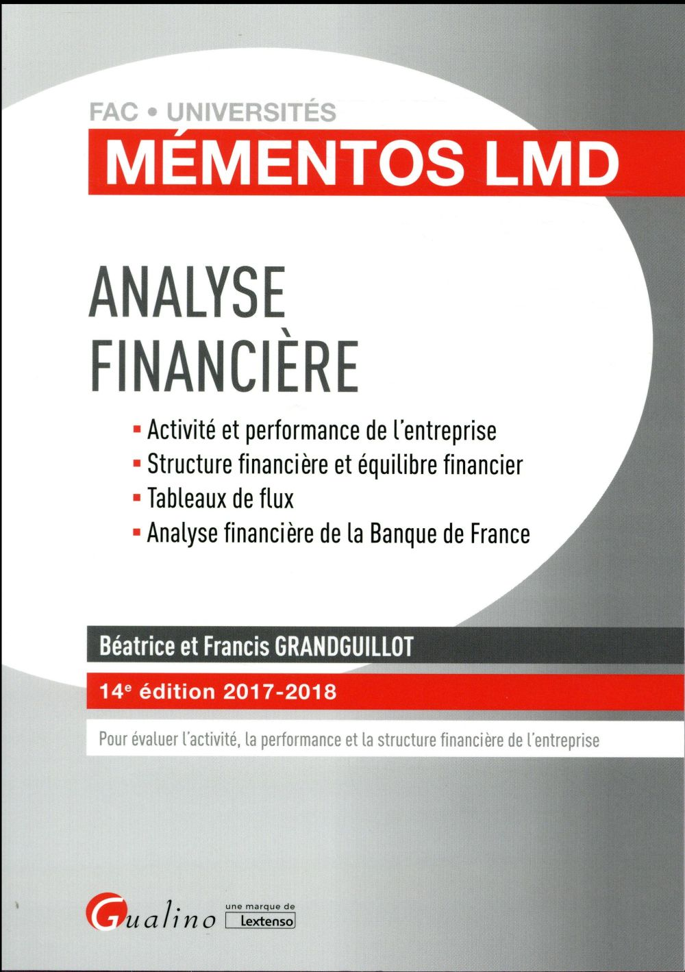 ANALYSE FINANCIERE 14EME EDITION