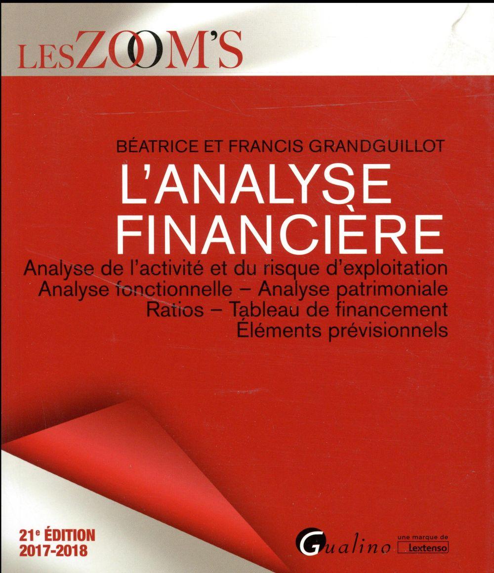 L ANALYSE FINANCIERE 21EME EDITION