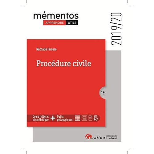 PROCEDURE CIVILE - INTEGRE LES DISPOSITIONS DU DECRET DU 11 DECEMBRE 2019 REFORMANT LA PROCEDURE CIV