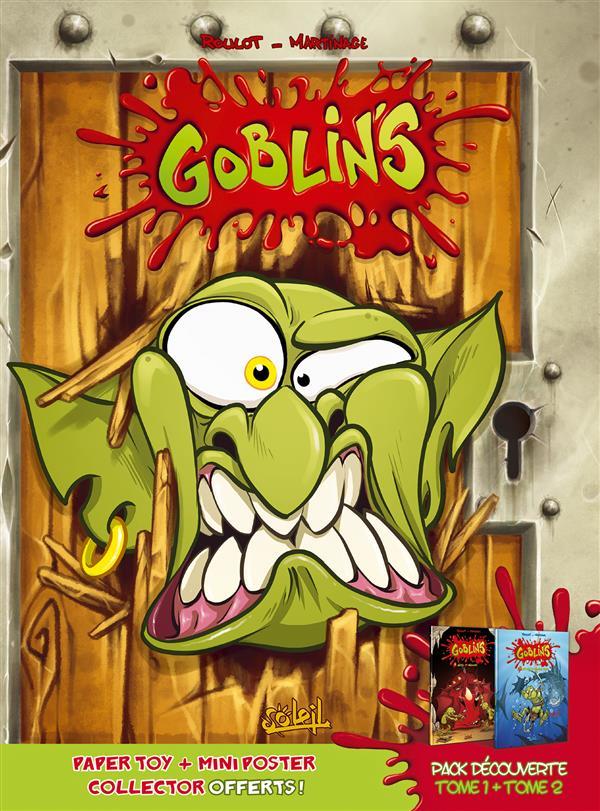 GOBLIN'S - FOURREAU TOME 01 + TOME 02