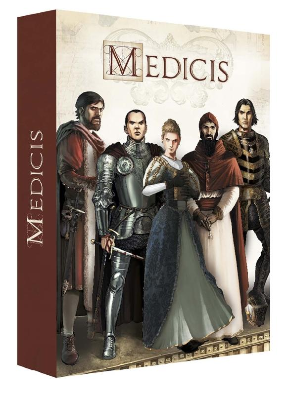 MEDICIS 05 COFFRET TOMES 1 A 5