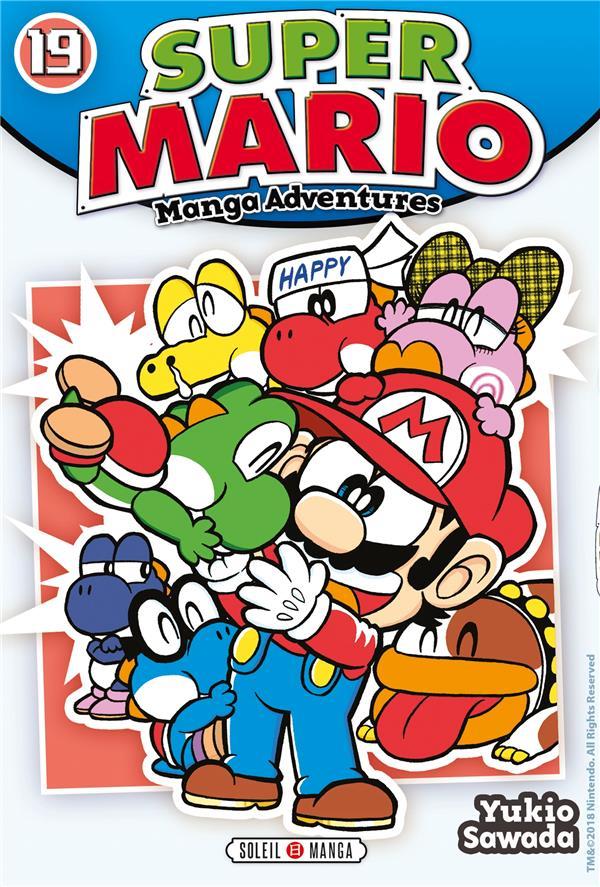 SUPER MARIO MANGA ADVENTURES 19 - T19