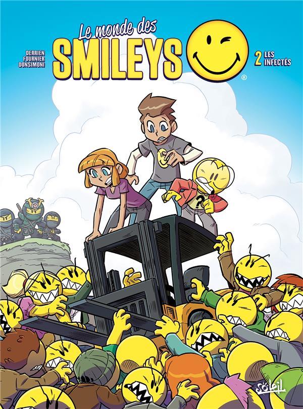 MONDE DES SMILEYS T02 - LES INFECTES