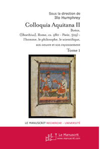 COLLOQUIA AQUITANA II (TOME 1) - 2006