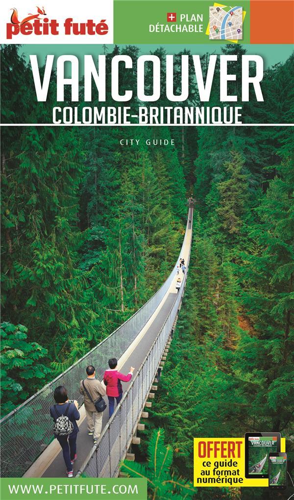 VANCOUVER COLOMBIE-BRITANNIQUE 2019 PETT FUTE+OFFRE NUM + PLAN