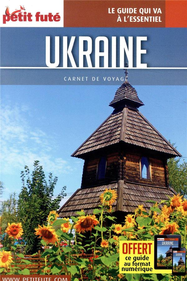 UKRAINE 2019 CARNET PETIT FUTE + OFFRE NUM